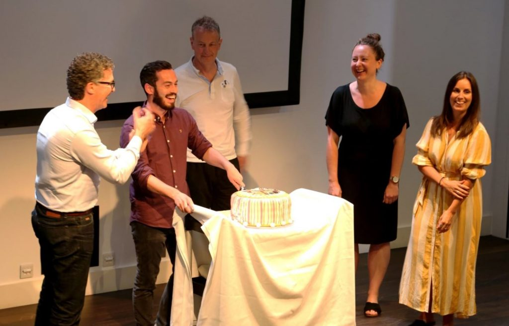 SolarAid and Solarcentury staff celebrating